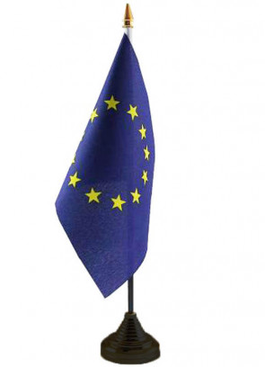 European Union Table Flag