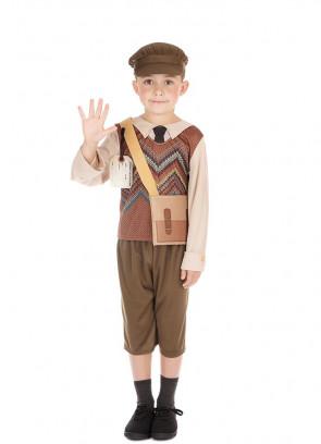 Evacuee Schoolboy Shorts Costume