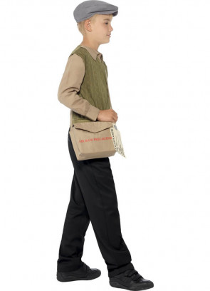 WWII Evacuee Boy (Brown & Green) Kit