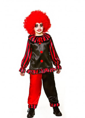 Evil Horror Clown Costume