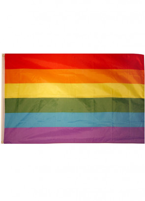 Pride Flag (Nylon) 5x3