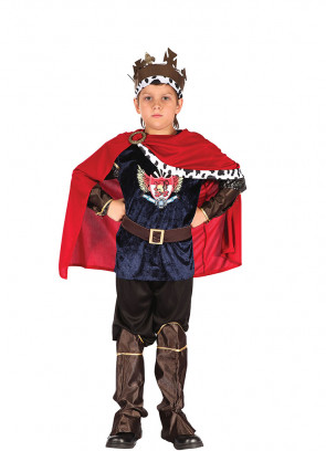 Fantasy King Costume (Boys)