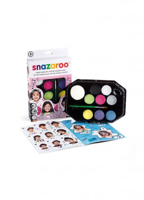 Snazaroo Fantasy Face Painting Kit – Pink Box