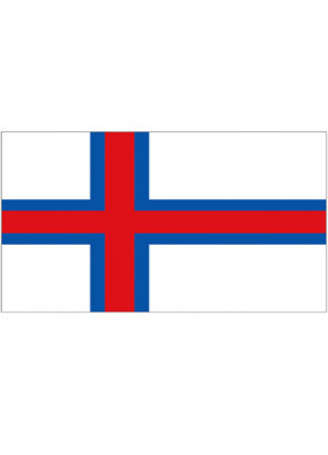 Faroe Islands Flag 5x3