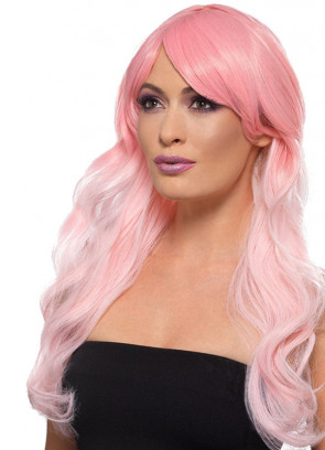 Fashion Ombre Wig Pink - Heat Resistant