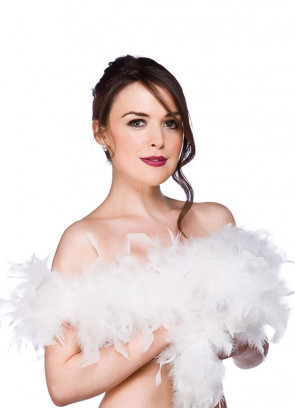 Feather Boa White 60g