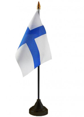 Finland Table Flag