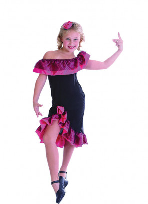 Spanish Flamenco Dancer Costume