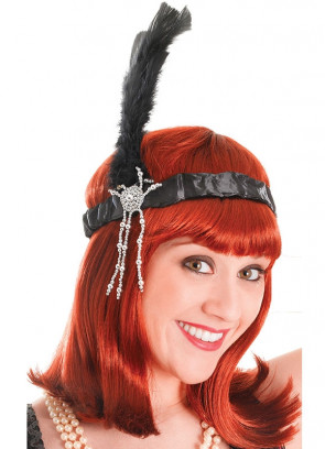 Flapper Headpiece (Black)