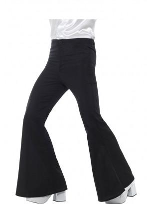 Flared Trousers - Men - Black