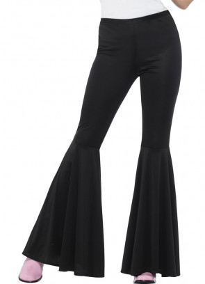 Flared Trousers – Ladies – Black