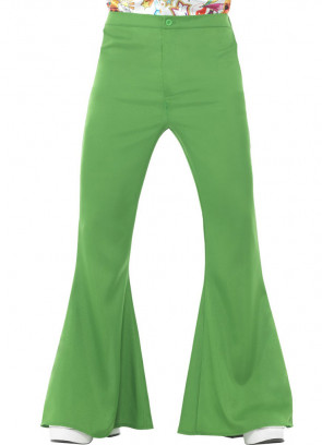 Flared Trousers – Men – Green