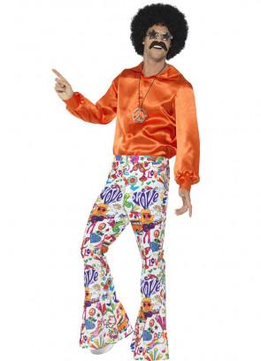 Flared Trousers – Men – Multi Groovy