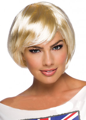 Flirty Flick Blonde Wig