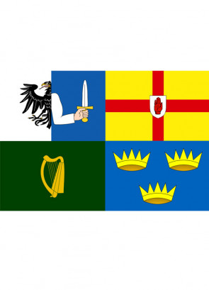 Four Provinces Flag (Ireland) Flag 5x3
