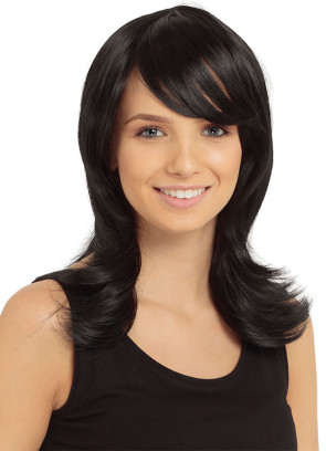 Francesca Wig - Black - Styleable