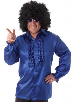 Frilly Shirt Blue
