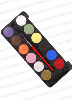 Kryolan Funfaze 12 Colour Makeup Palette