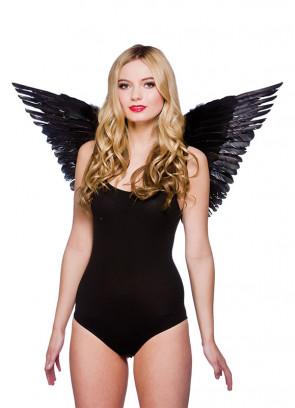Gabriel Angel Wings (Large, Black) 50x77cm