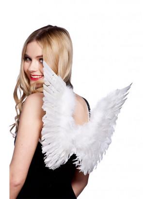 Gabriel Angel Wings (Small, White) 40x63cm