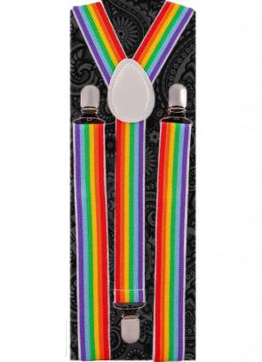 Pride Rainbow Braces