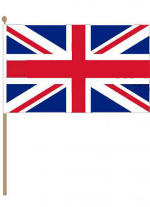 Union Jack UK Hand Flag