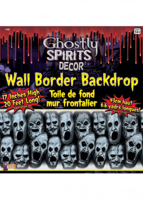 Ghostly Spirit Wall Border