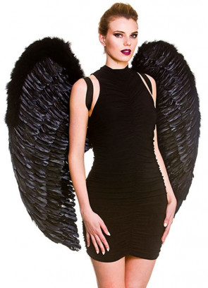 Angel Wings Black (Giant) 95cm x 95cm