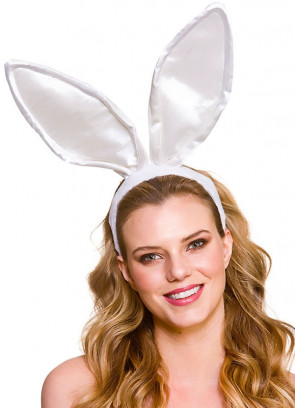 Giant Bunny Ears - White
