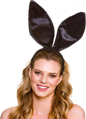 Giant Bunny Ears - Black