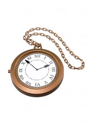 Giant Rapper's Clock Necklace