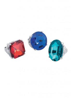 Giant Coloured Diamond Ring