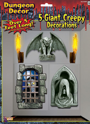 Giant Haunted Dungeon Decoration - Gargoyle