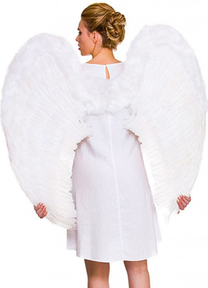 Angel Wings White - Giant 95cm x 95cm