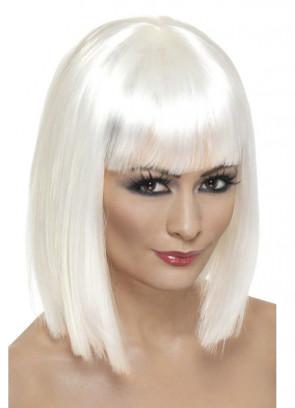Glam Wig - White