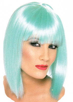 Glam Wig - Aqua Blue