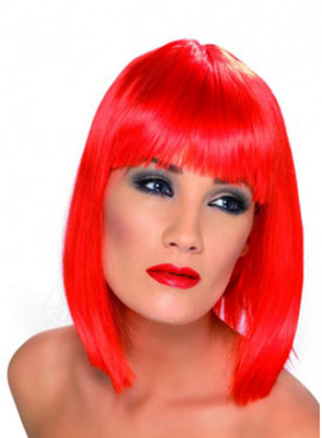 Glam Red Wig