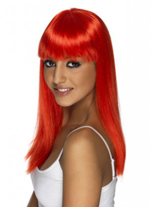 Glamourama Red Wig