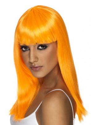 Glamourama Wig - Neon Orange