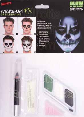 UV Skeleton Make-up Kit
