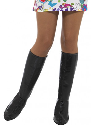 Go Go Boot Covers – Black