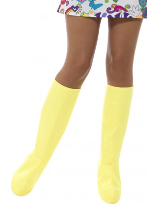 Go Go Boot Covers – Yellow