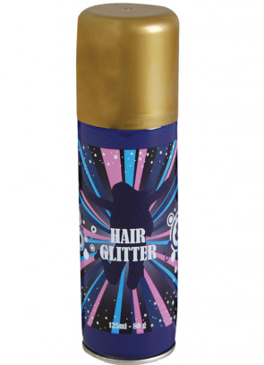 Glitter Hair Spray (Gold)