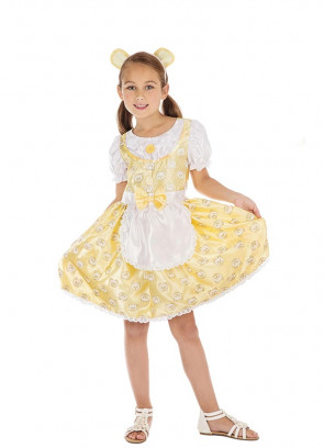 Goldilocks Satin Costume