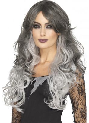 Grey Gothic Bride Wig – Heat Resistant