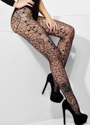 Gothic Crochet Tights - Dress Size 6-14