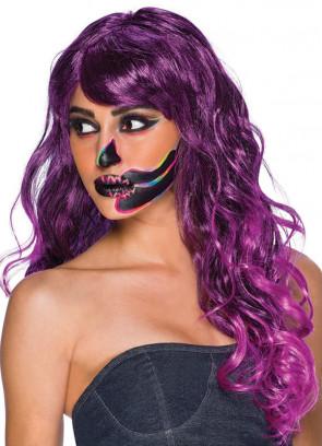 Temptress Purple Wig