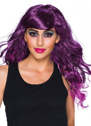 Temptress Purple Wig