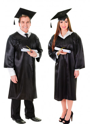 Graduation Robe and Hat - Judges Robe