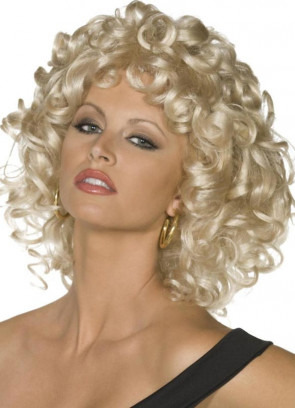 Grease Sandy Wig - Blonde Curly